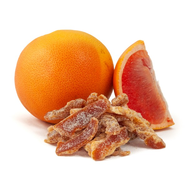 Low Carb Candied Grapefruit