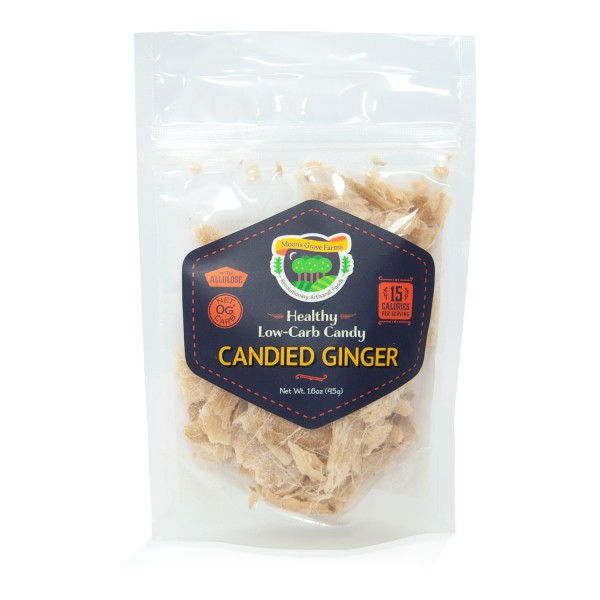 Low carb candied ginger