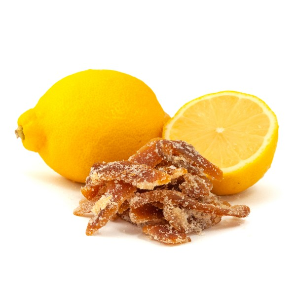 Low Carb Candied Lemon Peel
