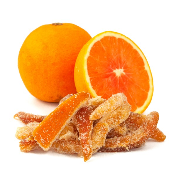 Low Carb Candied Orange Peel